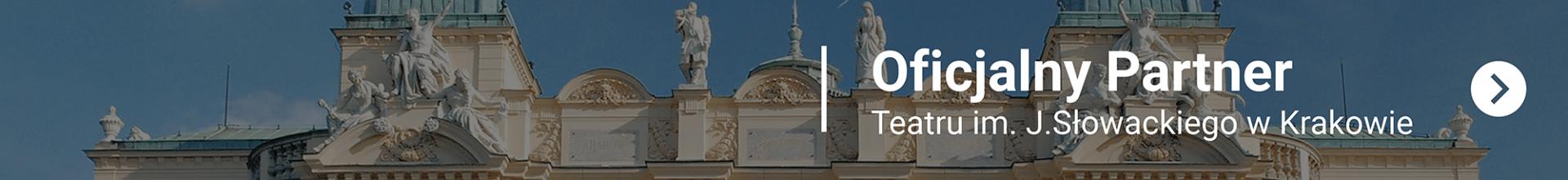 Teatr Słowackiego. Partner I CITY. Ekspert komunikacji wizualnej