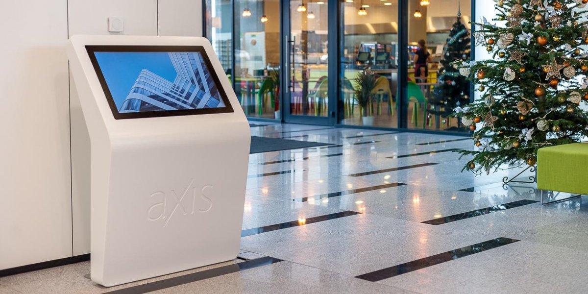 Axis. Rozwiązania multimedialne. Digital Signage. Kiosk informacyjny. Infokiosk. CITY. Ekspert komunikacji wizualnej.