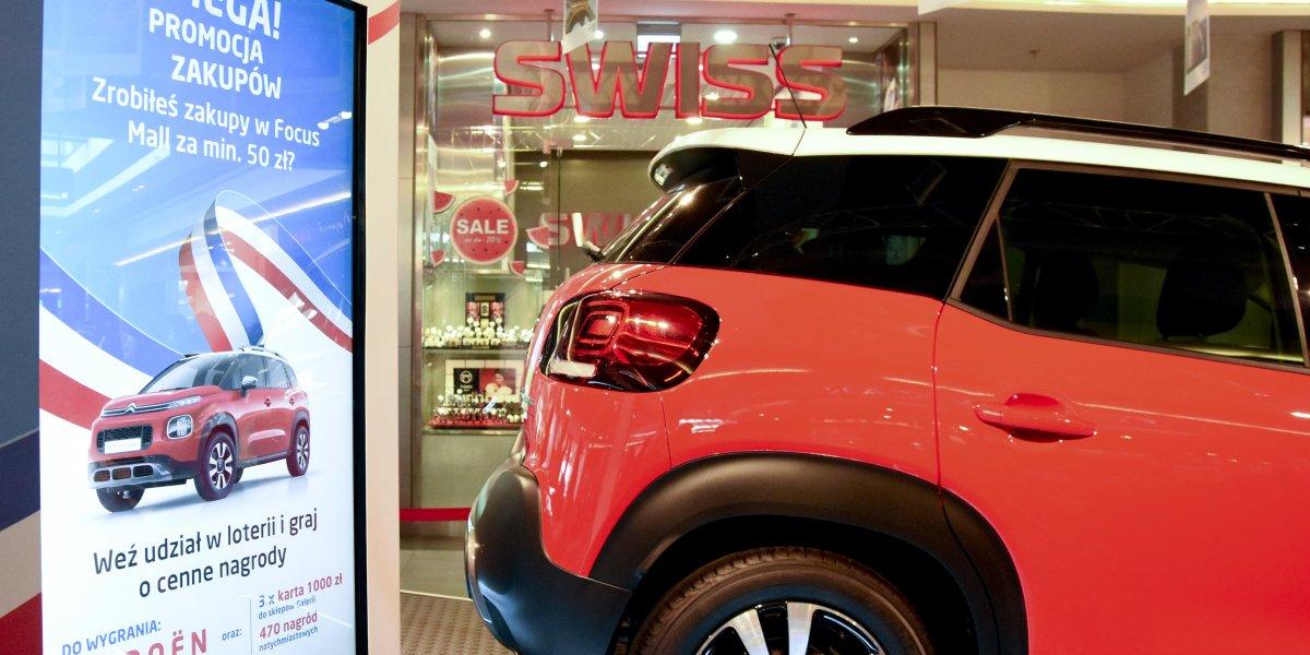 Focus Mall. Oferta dla galerii handlowych. Konkursy i loterie, akcje marketingowe. Przygotowanie i realizacja. Rozwiązania multimedialne. Digital Signage. Kioski multimedialne I CITY. Ekspert komunikacji wizualnej