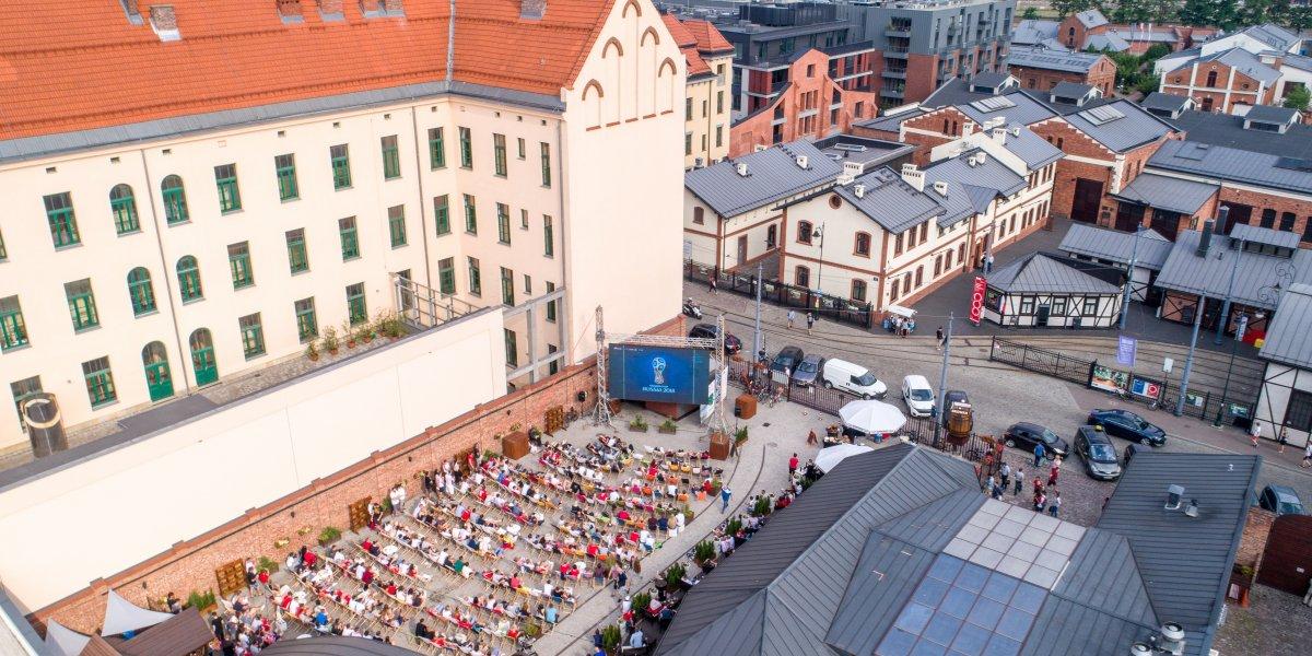 Stara Zajezdnia Kraków. Rozwiązania multimedialne. Digital Signage. Ekran LED I CITY. Ekspert komunikacji wizualnej
