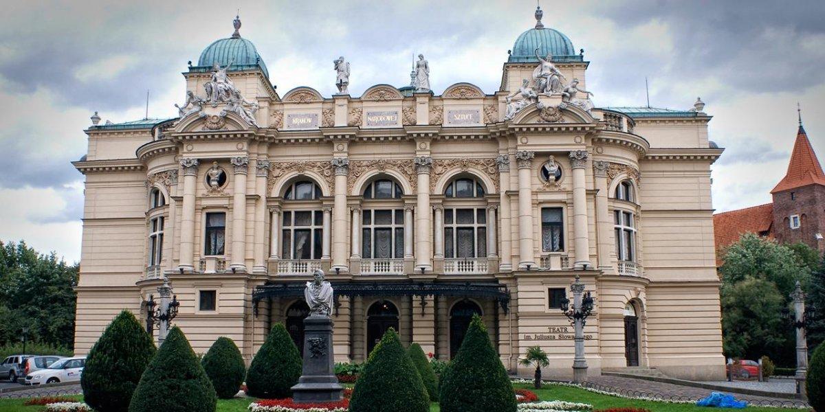 Teatr Słowackiego. Partnerujemy kulturze wielkiego formatu I CITY. Ekspert komunikacji wizualnej