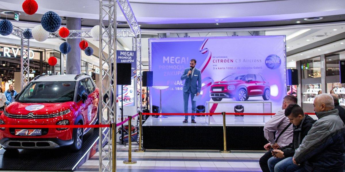 Focus Mall. Loteria. Branding wydarzenia I CITY